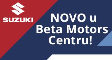 Novosti Suzuki srbija beta motors