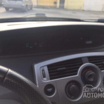 Renault Scenic 1.5 DCI tabla