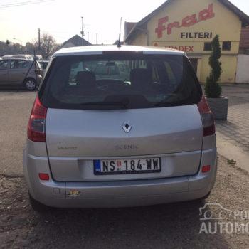 Renault Scenic 1.5 DCI zadnja strana