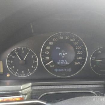 Mercedes Benz E 270 Elegance 2005 pokazatelji