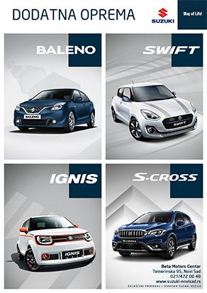 dodatna oprema za Suzuki